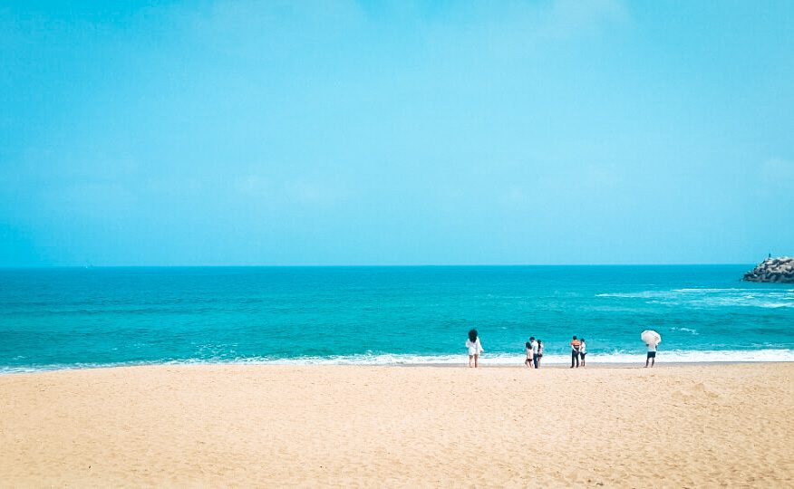 beaches in korea   anmok beach
