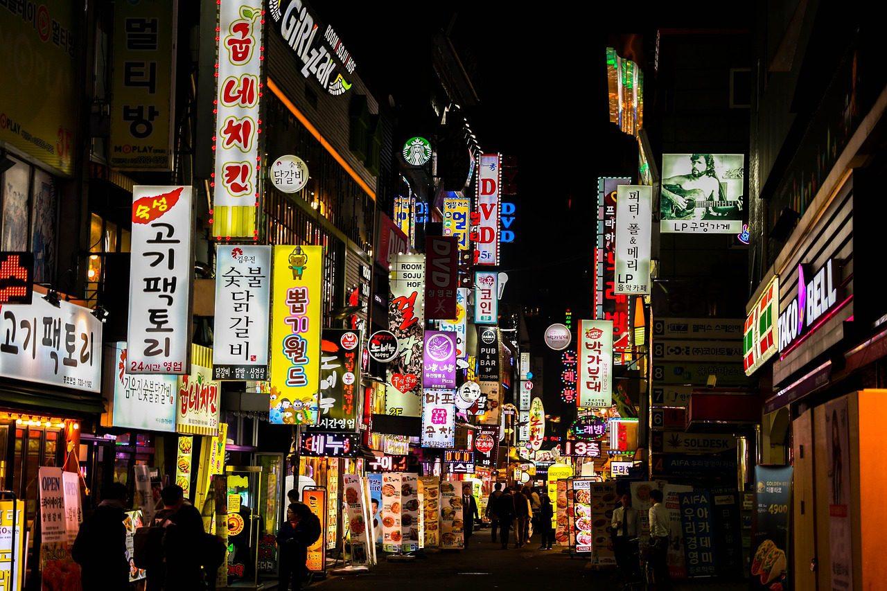 Seoul nightlife, Seoul at night